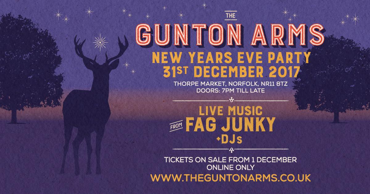The Gunton Arms New Year\'s Eve Party - The Gunton Arms